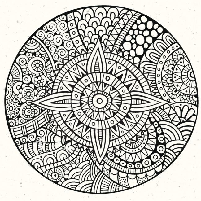 Mandala Faciles Para Decorar Cajas