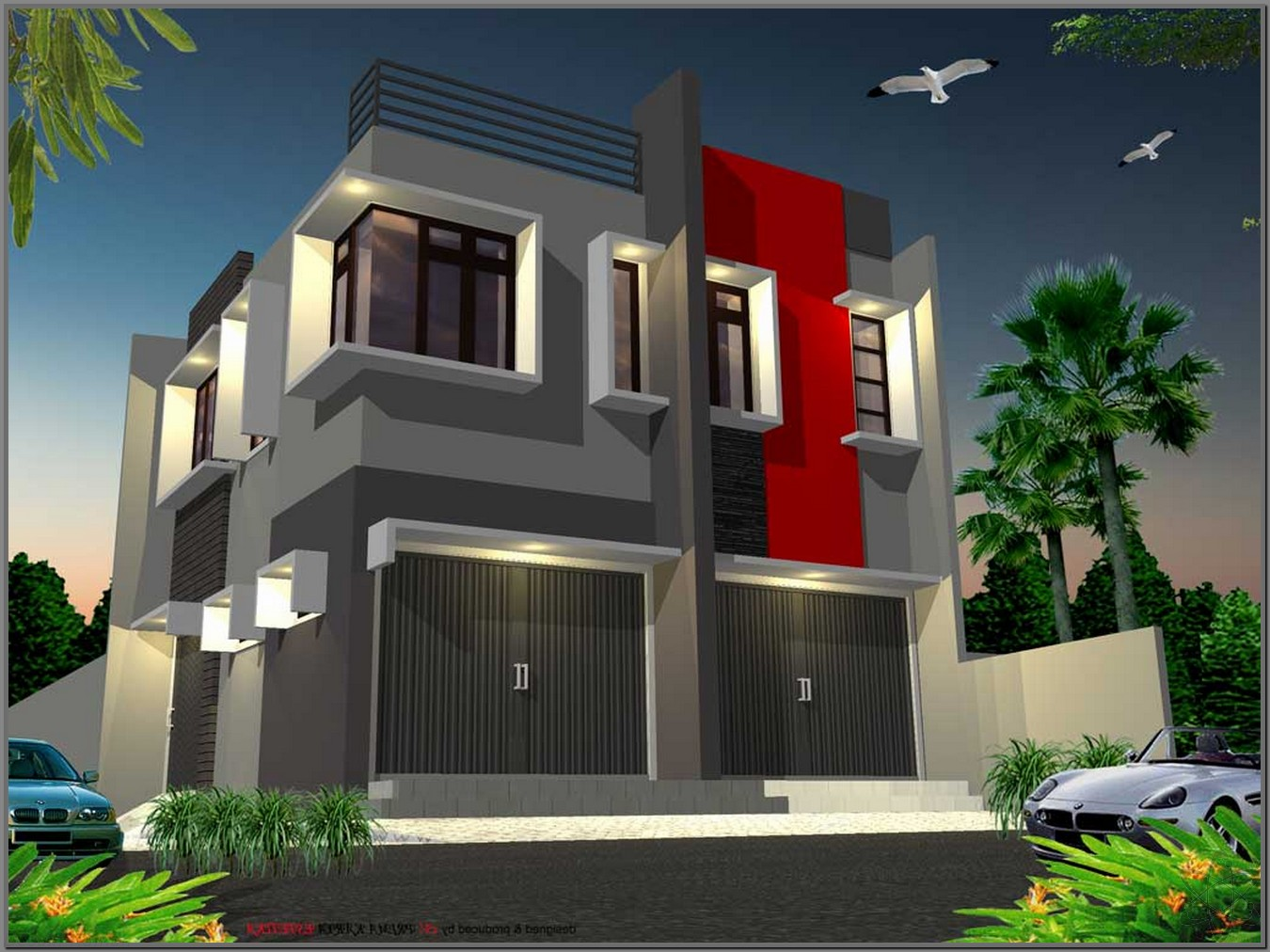 Desain Rumah Minimalis Ruko 2 Lantai Kumpulan Desain Rumah