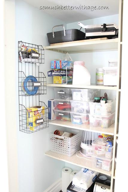 Pantry Organization Tips | somuchbetterwithage.com