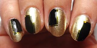 Gold Nail Tape