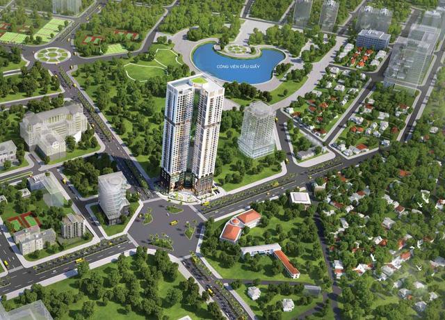 Golden Park thuộc top 5 toà nhà cao nhất Hà Nội.