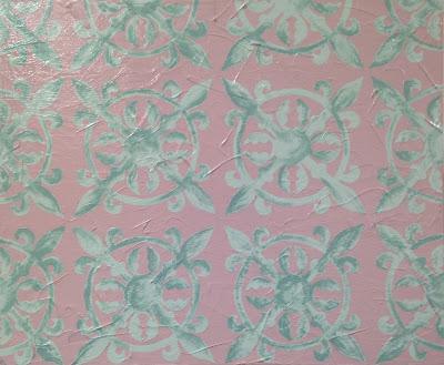 Lacey Craig | Pastel Tile | 19 x 24 | $220