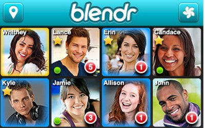 Gay hookup app Grindr and its straight cousin Blendr are