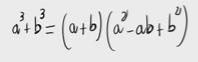 74.Demostración de la fórmula para la suma de cubos