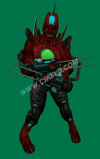 Skin Player - Zombie Red C2