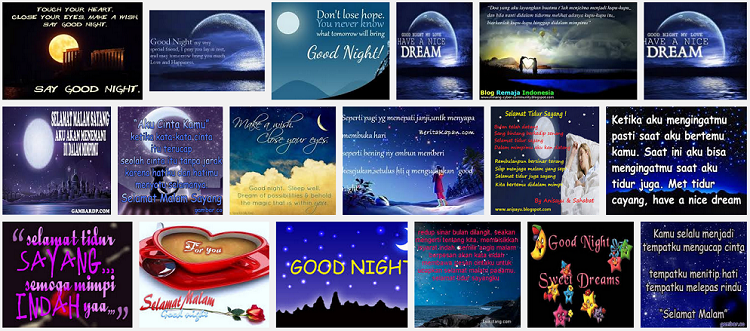 ^Kata² Ucapan Selamat Malam Romantis