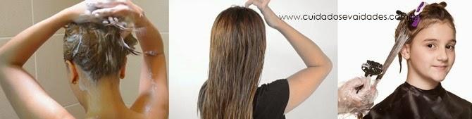 Passo a passo como fazer banho de brilho em cabelos loiros em casa