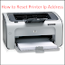 How to Reset Printer Ip Address