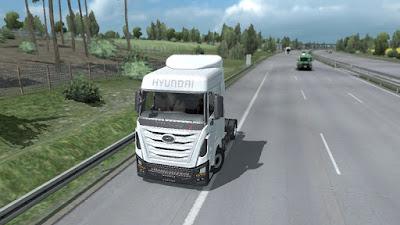 Hyundai Xcient v0.1 ETS2