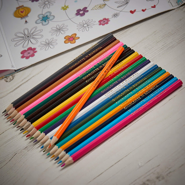 colours, pencils