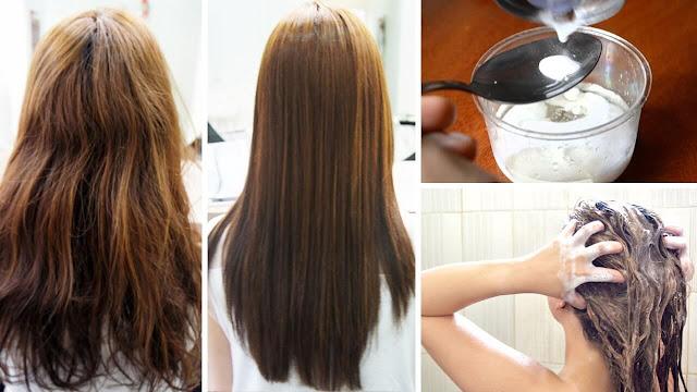 طريقة فرد الشعر بالنشا والبيض