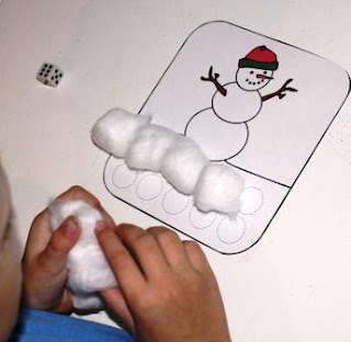 Snowman Dice Game