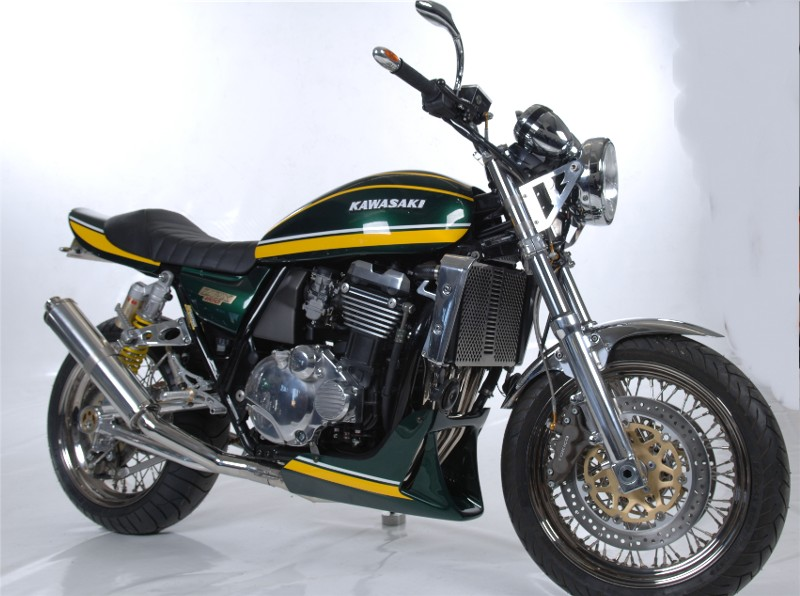 racing caf kawasaki zrx 1100 z 900 style by rf biketech. Black Bedroom Furniture Sets. Home Design Ideas
