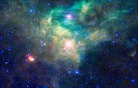 Star Cluster AFGL 490