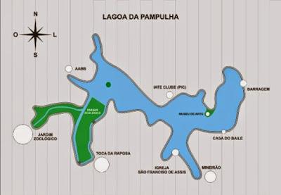Locais da região Pampulha onde fazemos carreto