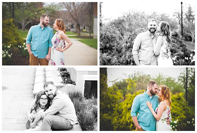 engagement session downtown Terre Haute