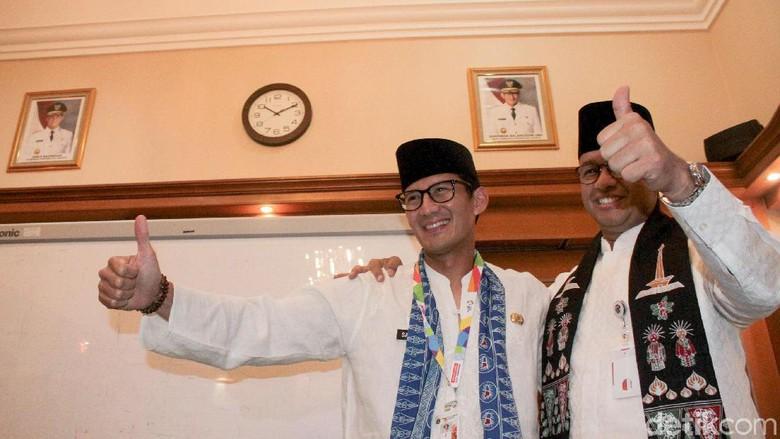 Siapakah Pengganti Wakil Gubernur Jakarta Yang Berinisaial M Setelah Sandi Jadi Cawapres?