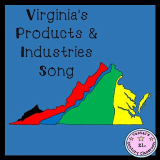 Virginia's Products & Industries Song