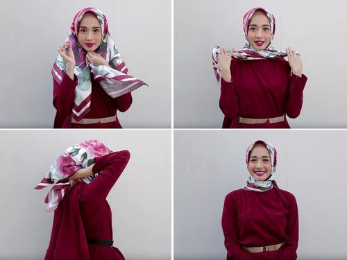 gaya berhijab style 1