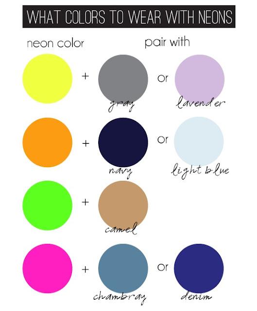 Minhas escolhas novas tend ncias tempo de neon - What colour goes with lilac ...
