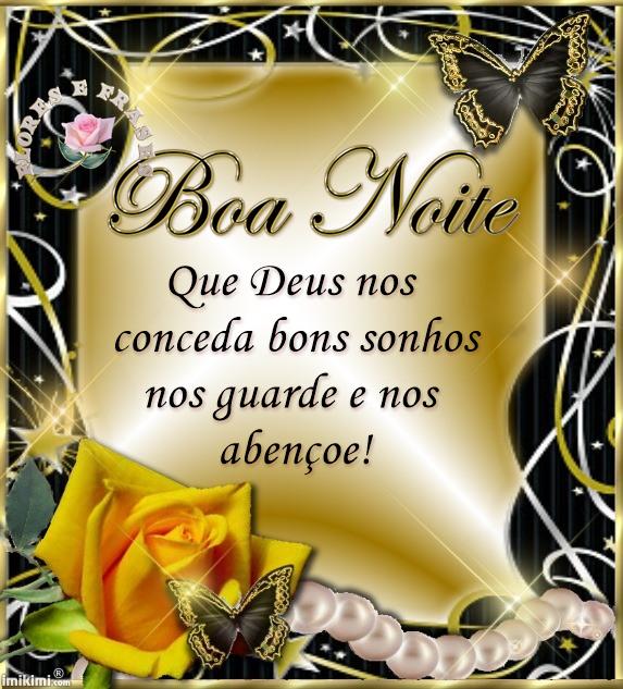 Tag Frases De Boa Noite Com Flores E Mensagem De Deus