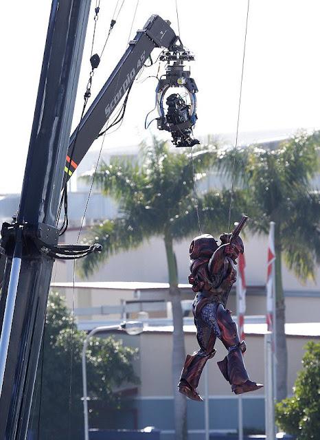 Foto Behind the Scenes Film Aquaman