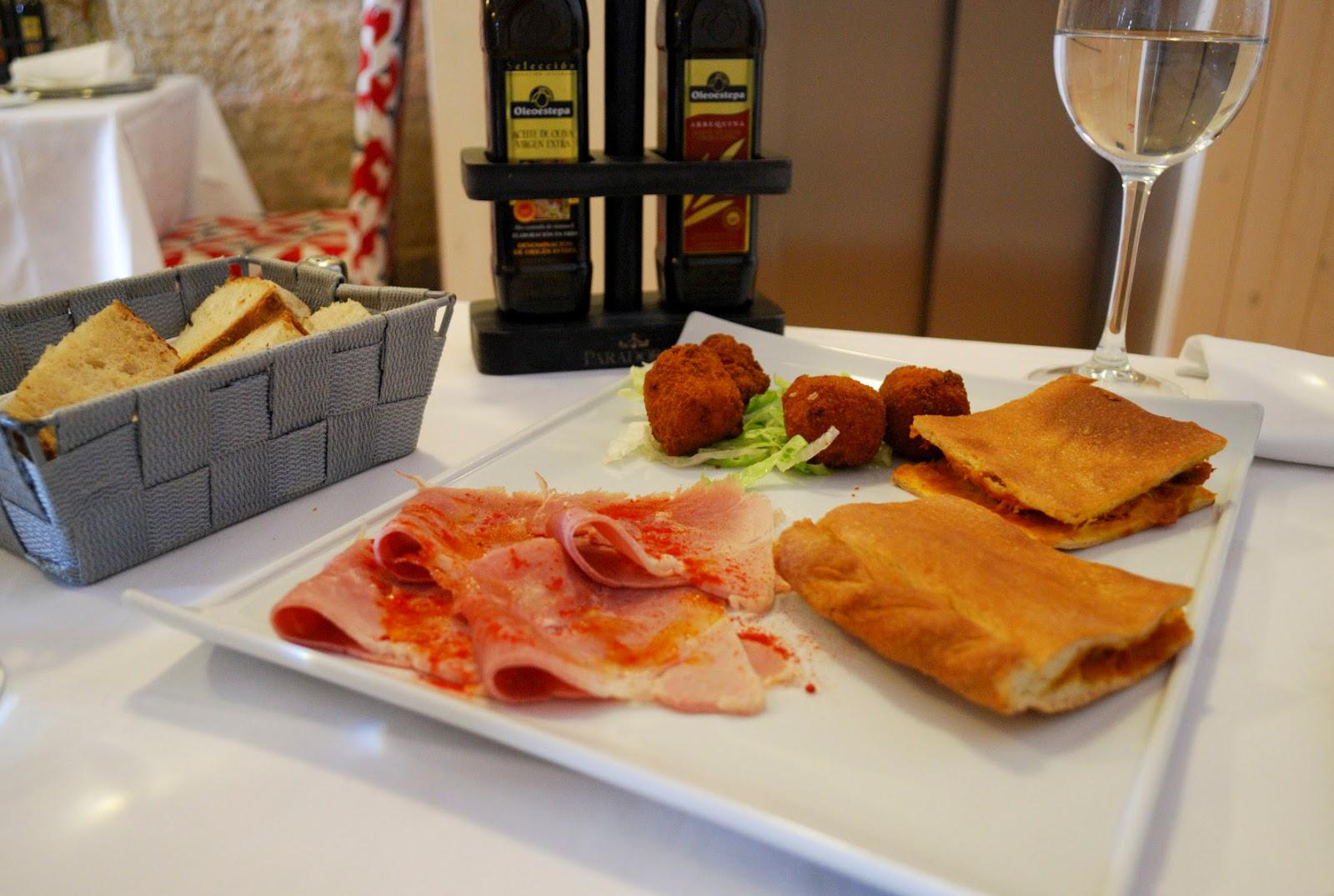 lacon empanada gallega delicacies food gastronomy galicia spain restaurant parador hotel