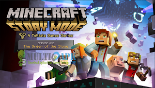 Game Minecraft Story Mode Terbaru Versi 1.33 Apk+Mod+Data All GPU For Android