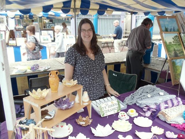 Ty Siriol Ceramics craft stall