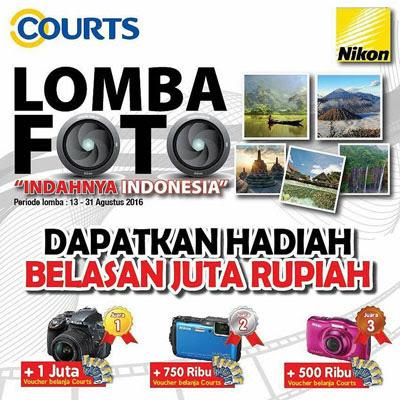 Lomba Foto Court – Nikon – Indahnya Indonesia - 31 Agt 2016