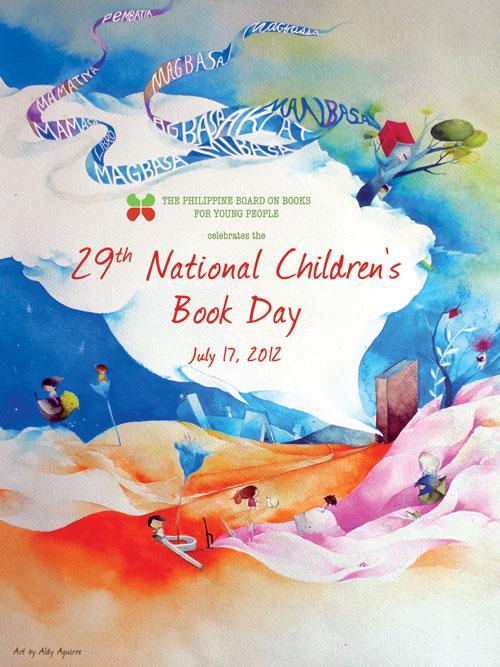 School Librarian in Action: NCBD 2012 Poster: Masayang Magbasa sa ...