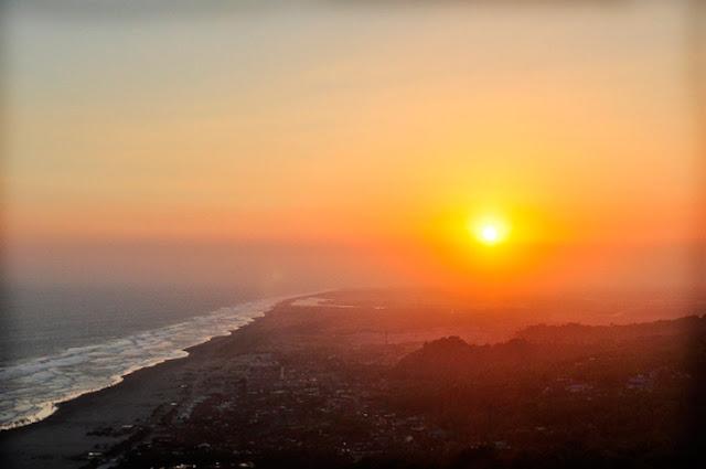 Sunset di Parang Endog