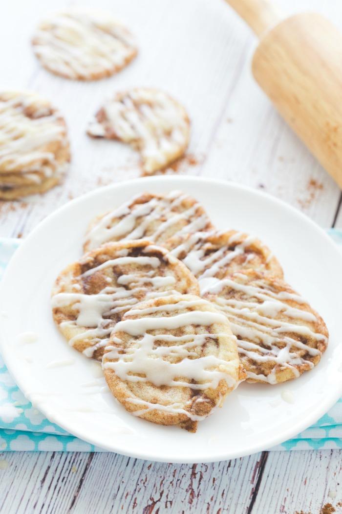 Chewy Cinnamon Sugar Cookies