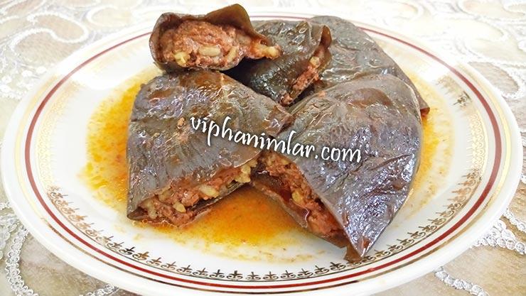 Kuru Patlıcan Dolması Nasıl Yapılır - www.viphanimlar.com