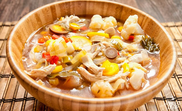 Recipe of Chicken-Vegetable Soup With Oregano and Orzo