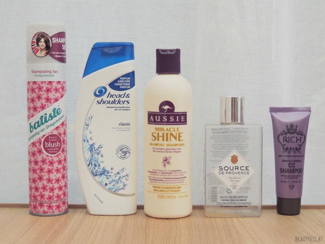 produits termines revue avis test maquillage soin cheveux