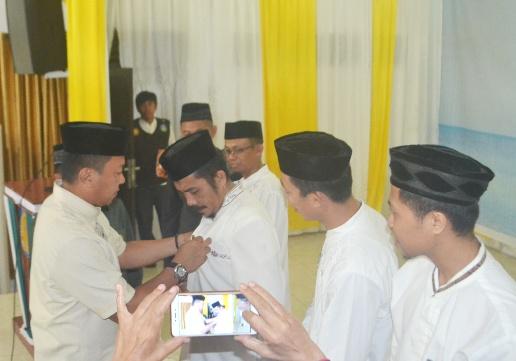 H. Arfang Arif Dikukuhkan Jadi Ketua, DMI Kab.Kep. Selayar