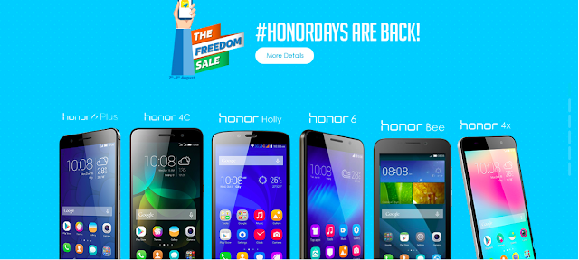 Huawei's smartphone e-brand Honor introduces attractive Independence Day offers