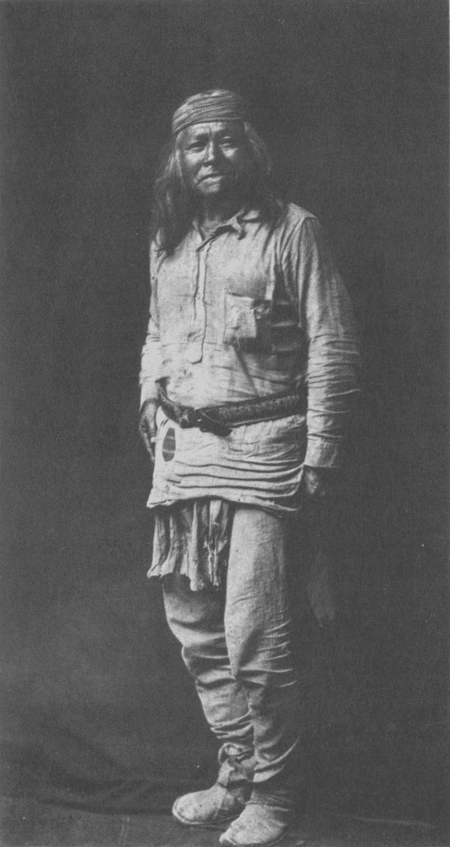 Apache Traditional Clothing Male