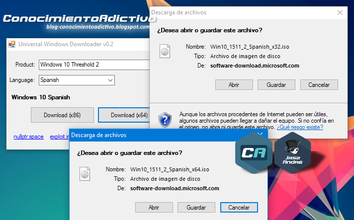 Universal Windows Downloader by Nummerok - Descarga las ISOs e instaladores oficiales de Windows & Office