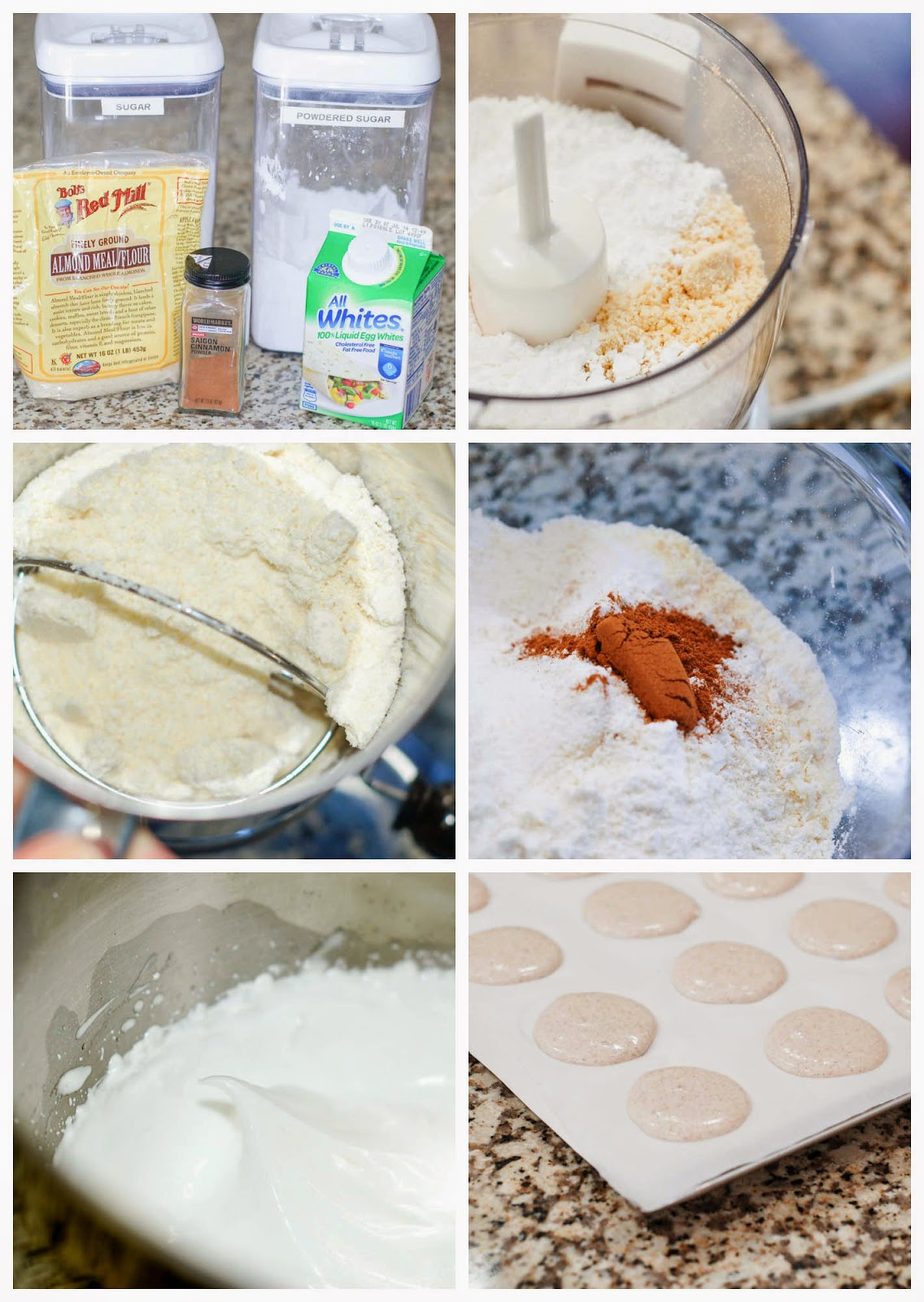 Making Churro Macarons by The Sweet Chick