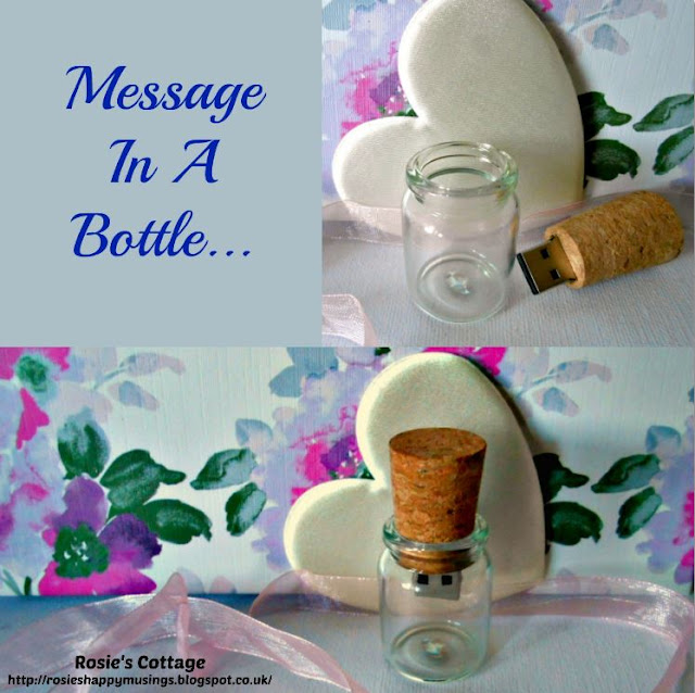 21st Century Message in a bottle USB