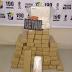 Suspeitos são flagrados com 51kg de maconha, 4kg de cocaína e 49 comprimidos de ecstasy