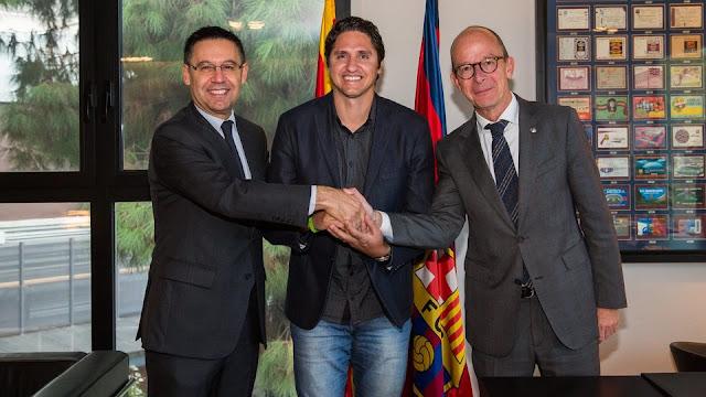 La Fundación Barcelona amplía acuerdo con la Fundación Edmílson