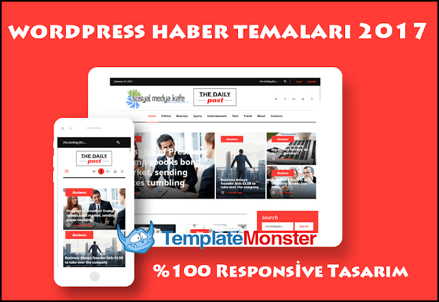 Wordpress Haber Temaları 2017