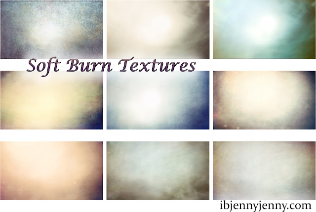 Soft Burn Textures  previw