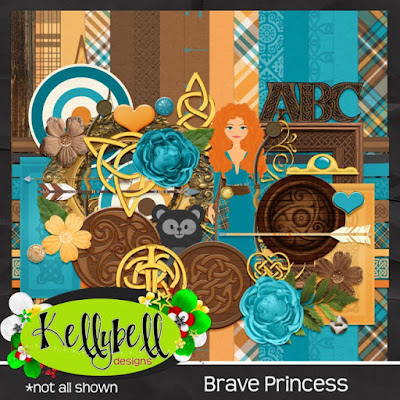 Brave Princess -- New from Kellybell Designs!