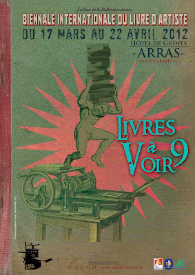 Arras, salon du livre d'artiste 2012