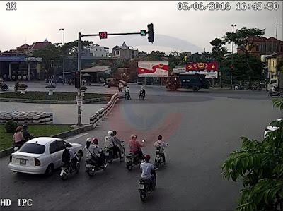 Hình ảnh thực tế chất lượng camera quan sát do Cộng Lực cung cấp và lắp đặt.