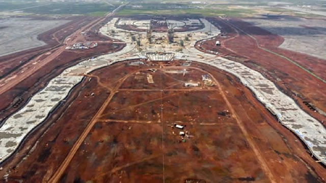 Llegan militares a Santa Lucía por nuevo aeropuerto